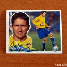 Cromos de Fútbol: LAS PALMAS - GUDJONSSON - FICHAJE Nº 22 - EDICIONES ESTE 2000-2001, 00-01 - NUNCA PEGADO. Lote 295289948