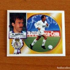 Cromos de Fútbol: REAL MADRID - MARTIN VÁZQUEZ - EDICIONES ESTE 1994-1995, 94-95 - NUNCA PEGADO. Lote 295290363
