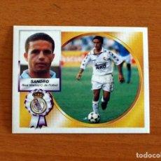 Cromos de Fútbol: REAL MADRID - SANDRO - COLOCA - EDICIONES ESTE 1994-1995, 94-95 - NUNCA PEGADO. Lote 295290843
