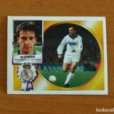 Cromos de Fútbol: REAL MADRID - ALFONSO - EDICIONES ESTE 1994-1995, 94-95 - NUNCA PEGADO. Lote 295291233