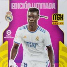 Cromos de Futebol: CAMAVINGA - REAL MADRID - EDICION LIMITADA - FICHAJE - PANINI MEGACRACKS MGK 2021 2022 21 22. Lote 295370473
