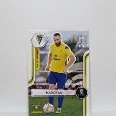 Cromos de Fútbol: MEGACRACKS 2021 2022 MGK 21 22 CROMO PANINI FUTBOL N 436 CADIZ NUEVO FICHAJE HAROYAN. Lote 295383263