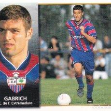 Cromos de Fútbol: ESTE 98-99 *GABRICH* COLOCA DEL EXTREMADURA (VENTANILLA SUPERIOR)(A-4). Lote 295383298