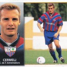 Cromos de Fútbol: ESTE 98-99 *CERMELJ* COLOCA DEL EXTREMADURA (VENTANILLA SUPERIOR)(A-4). Lote 295383338