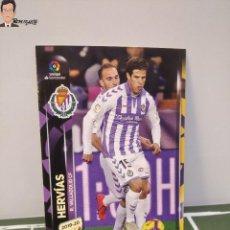 Cromos de Fútbol: HERVÍAS Nº 337 (VALLADOLID) MEGACRACKS 2019 2020 PANINI CARD ALBUM LIGA MEGA CRACKS MGK 19 20. Lote 295383468