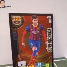 Cromos de Fútbol: PIQUE Nº 441 SUPER CRACK (F.C. BARCELONA) ADRENALYN XL 2013 2014 13 14 PANINI LIGA FÚTBOL BARÇA. Lote 295384638