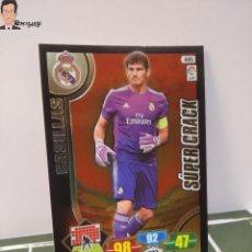 Cromos de Fútbol: IKER CASILLAS Nº 445 SUPER CRACK (REAL MADRID) ADRENALYN XL 2013 2014 13 14 PANINI LIGA CROMO. Lote 295384748