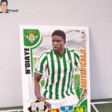Cromos de Fútbol: N'DIAYE Nº 465 (REAL BETIS) NUEVO FICHAJE CROMO CARD TARJETA ADRENALYN 13 14 PANINI LIGA 2013 2014. Lote 295384803