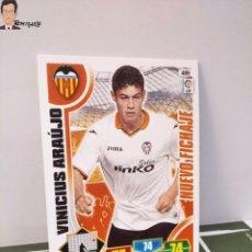Cromos de Fútbol: VINICIUS ARAUJO Nº 489 (VALENCIA) NUEVO FICHAJE CROMO CARD TARJETA ADRENALYN PANINI LIGA 2013 2014. Lote 295384863
