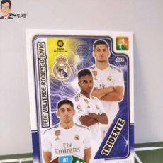 Cromos de Fútbol: TRIDENTE Nº 234 (REAL MADRID) FEDE RODRYGO JOVIC - ADRENALYN XL 2019 2020 19 20 PANINI CARD LIGA. Lote 295385033