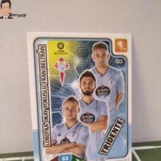Cromos de Fútbol: TRIDENTE Nº 108 (CELTA VIGO) LOBOTKA FRAN BELTRAN OKAY - ADRENALYN XL 2019 2020 19 20 PANINI CARD. Lote 295385058