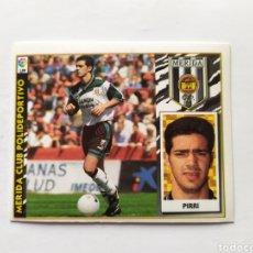 Cromos de Fútbol: LIGA ESTE 1997 1998 97 98 PIRRI MÉRIDA. Lote 295385513