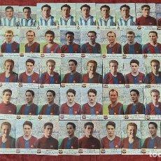 Cromos de Fútbol: COLECCION DE 72 CROMOS DE JUGADORES DE FUTBOL. CHAMPAÑA CASTELLBLANCH. 1952.. Lote 295413478