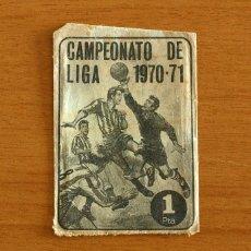 Cromos de Fútbol: SOBRE VACIO SIN CROMOS - CAMPEONATO DE LIGA 1970-1971, 70-71 - EDITORIAL FHER. Lote 295430668