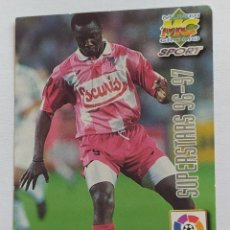 Cromos de Fútbol: MUNDICROMO 96/97 OHEN / FABIANO SUPERSTARS N° 440 SOCIEDAD DEPORTIVA COMPOSTELA. Lote 295430783