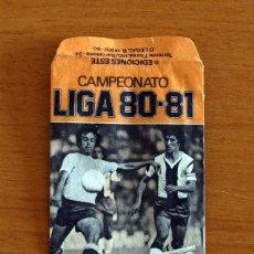 Cromos de Fútbol: SOBRE VACIO, SIN CROMOS - COLOR NARANJA - CAMPEONATO LIGA 1980-1981, 80-81 - EDICIONES ESTE. Lote 295430803