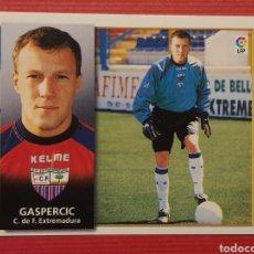 Cromos de Fútbol: ESTE 1998-1999 FICHAJE 34 GASPERCIC CROMO NUNCA PEGADO 98-99. Lote 295431038