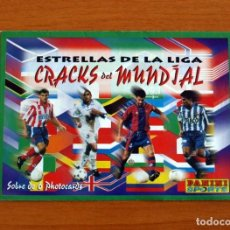 Cromos de Fútbol: SOBRE VACIO SIN CROMOS - ESTRELLAS DE LA LIGA - CRACKS DEL MUNDIAL - PANINI. Lote 295432568