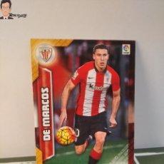 Cromos de Fútbol: DE MARCOS Nº 32 (ATHLETIC BILBAO) MEGACRACKS 2016 2017 16 17 PANINI ALBUM LIGA MEGA CRACKS MGK. Lote 295508728