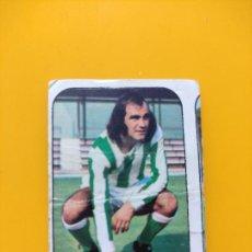 Cromos de Fútbol: GARCÍA SORIANO BETIS LIGA ESTE 76 77 1976 1977 SIN PEGAR. Lote 295517563