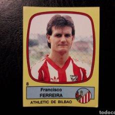 Cromos de Fútbol: FERREIRA ATHLETIC DE BILBAO N° 8 PANINI FÚTBOL 89 88-89 1988-1989. SIN PEGAR. PEDIDO MÍNIMO 3€. Lote 295553408