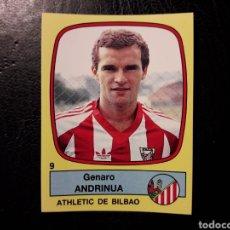 Cromos de Fútbol: ANDRINÚA ATHLETIC DE BILBAO N° 9 PANINI FÚTBOL 89 88-89 1988-1989. SIN PEGAR FOTOS. PEDIDO MÍNIMO 3€. Lote 295553428