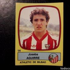 Cromos de Fútbol: AGUIRRE ATHLETIC DE BILBAO N° 14 PANINI FÚTBOL 89 88-89 1988-1989. SIN PEGAR FOTOS. PEDIDO MÍNIMO 3€. Lote 295553448