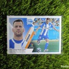 Cromos de Fútbol: Nº4 EDGAR MERCADO DE INVIERNO D ALAVÉS LIGA ESTE 19 20. Lote 295553453
