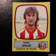 Cromos de Fútbol: URALDE ATHLETIC DE BILBAO N° 16 PANINI FÚTBOL 89 88-89 1988-1989. SIN PEGAR. FOTOS. PEDIDO MÍNIMO 3€. Lote 295553458