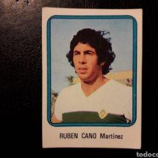 Cromos de Fútbol: RUBÉN CANO ELCHE N° 81 VULCANO 75 76 1975 1976. SIN PEGAR. VER FOTOS. PEDIDO MÍNIMO 3€.. Lote 295553583