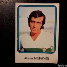 Cromos de Fútbol: MELENCHÓN ELCHE N° 85 VULCANO 75 76 1975 1976. SIN PEGAR. VER FOTOS. PEDIDO MÍNIMO 3€.. Lote 295553598