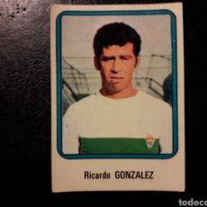 Cromos de Fútbol: GONZÁLEZ ELCHE N° 87 VULCANO 75 76 1975 1976. SIN PEGAR. VER FOTOS. PEDIDO MÍNIMO 3€. Lote 295553703