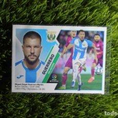 Cromos de Fútbol: Nº27 GUERRERO MERCADO DE INVIERNO CD LEGANÉS LIGA ESTE 19 20. Lote 295554708