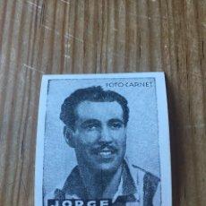 Cromos de Fútbol: R15585 CROMO FUTBOL FOTO-CARNET CISNE 1942 SIN PEGAR GABRIEL JORGE SOSA ESPAÑOL ESPANYOL. Lote 295624063