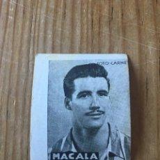 Cromos de Fútbol: R15585 CROMO FUTBOL FOTO-CARNET CISNE 1942 SIN PEGAR MACALA ESPAÑOL ESPANYOL. Lote 295624253