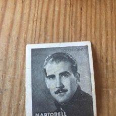 Cromos de Fútbol: R15585 CROMO FUTBOL FOTO-CARNET CISNE 1942 SIN PEGAR ALBERTO MARTORELL ESPAÑOL ESPANYOL. Lote 295624648