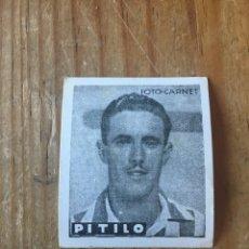 Cromos de Fútbol: R15585 CROMO FUTBOL FOTO-CARNET CISNE 1942 SIN PEGAR PITILO ANGEL DOMINGUEZ ESTEBAN REAL BETIS. Lote 295624773