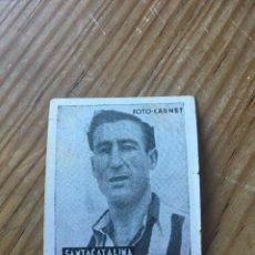 Cromos de Fútbol: R15585 CROMO FUTBOL FOTO-CARNET CISNE 1942 SIN PEGAR NICOLAS SANTACALINA CASTELLON SABADELL. Lote 295625078