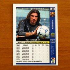 Cromos de Fútbol: BARCELONA - Nº 139, RÜSTÜ - LAS FICHAS DE LA LIGA MUNDICROMO 2003-2004, 03-04. Lote 295628733