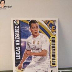 Cromos de Fútbol: LUCAS VÁZQUEZ Nº 232 BIS (REAL MADRID) ADRENALYN XL 2015 2016 PANINI ALBUM LIGA CROMO CARD. Lote 295730638