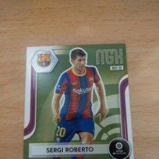 Cromos de Fútbol: MEGACRACKS 21/22. SERGI ROBERTO. BARCELONA.. Lote 295730888