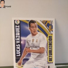 Cromos de Fútbol: LUCAS VÁZQUEZ Nº 232 BIS (REAL MADRID) ADRENALYN XL 2015 2016 PANINI ALBUM LIGA CROMO CARD. Lote 295730963