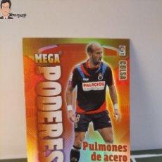 Cromos de Fútbol: COLSA Nº 374 MEGA PODERES (RACING SANTANDER) MEGACRACKS 2011 2012 11 12 PANINI CARD LIGA ALBUM MGK. Lote 295756038