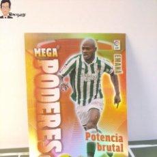 Cromos de Fútbol: EMANA Nº 380 PODERES (REAL BETIS) MEGACRACKS 2011 2012 11 12 PANINI CARD LIGA ALBUM MEGA CRACKS MGK. Lote 295756078