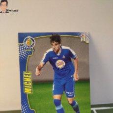 Cromos de Fútbol: MICHEL Nº 461 - FICHAJE (GETAFE) MEGACRACKS 2011 2012 11 12 PANINI CARD LIGA MEGA CRACKS MGK. Lote 295756158