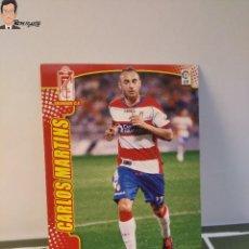 Cromos de Fútbol: CARLOS MARTINS Nº 475 FICHAJE (GRANADA) MEGACRACKS 2011 2012 11 12 PANINI CARD LIGA MEGA CRACKS MGK. Lote 295756203
