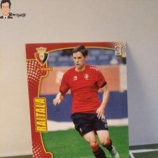 Cromos de Fútbol: RAITALA Nº 469 - FICHAJE (OSASUNA) MEGACRACKS 2011 2012 11 12 PANINI CARD LIGA MEGA CRACKS MGK. Lote 295756223