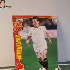Cromos de Fútbol: ARMENTEROS Nº 470 FICHAJE (SEVILLA) MEGACRACKS 2011 2012 11 12 PANINI CARD LIGA MEGA CRACKS MGK. Lote 295756248
