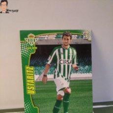 Cromos de Fútbol: USTARITZ Nº 478 FICHAJE (REAL BETIS) MEGACRACKS 2011 2012 11 12 PANINI CARD LIGA MEGA CRACKS MGK. Lote 295756328