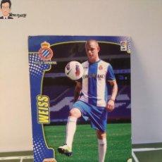 Cromos de Fútbol: WEISS Nº 490 FICHAJE (ESPANYOL) MEGACRACKS 2011 2012 11 12 PANINI CARD LIGA MEGA CRACKS MGK. Lote 295756348